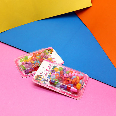 PACK 40 COLORFUL HAIR BEADS FOR GIRLS