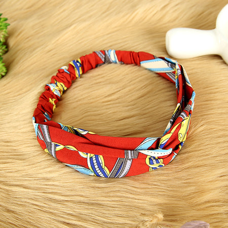 Self Knot Elastic Fabric Headband