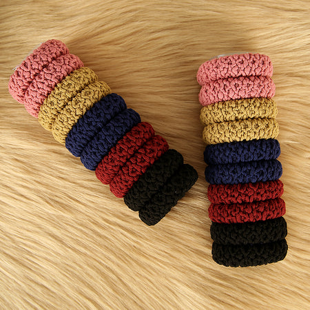 Pack of 20 Multicolor basic hair bobbles
