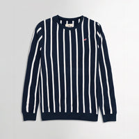 Hlster Men Horizontal Dyed Yarn Striped  Sweatshirt   (HO-1922)