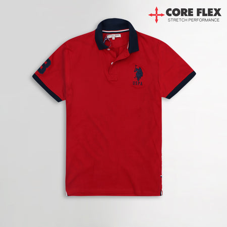 Core Flex Signature Embroidery Performance Polo Shirt  (US-964)