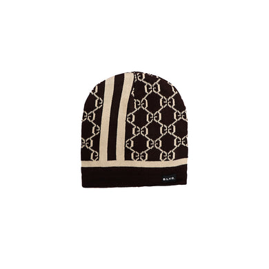 William Fur Lined Textured fitted beanie Cap (CP-2010)