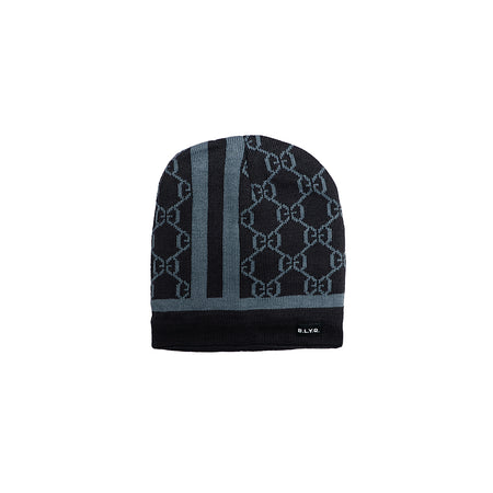 Aldrich Fur Lined Textured fitted beanie Cap  (CP-2007)