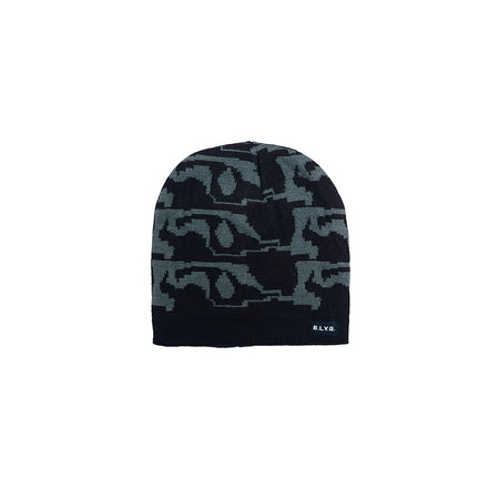 Roborto Lined Textured fitted beanie Cap (CP-1930)
