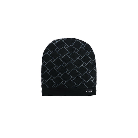 Manferd Fur Lined Textured fitted beanie Cap (CP-2006)