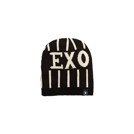 EXO Fur Lined Textured fitted beanie Cap (CP-1938)