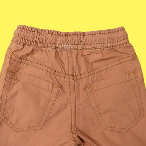RE Boys Rust Earth Pure weaved cotton poplin Rugby shorts  (RE-5141)