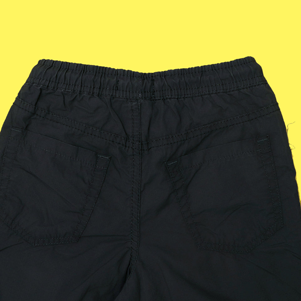 RE Boys Army Green Pure weaved cotton poplin Rugby shorts (RE-5070)