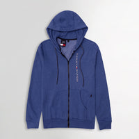 Men Essential  Fleece Graphic Zipper Hoodie (TO-11336)