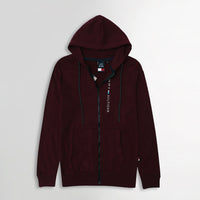 MEN ESSENTIAL FLEECE GRAPHIC ZIPPER HOODIE