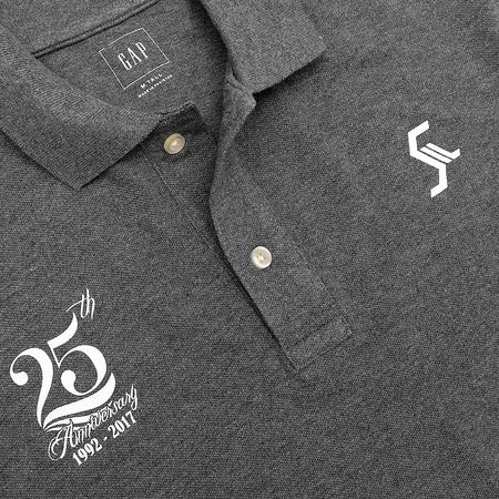 GP Men Embellished Cotton Pique Polo Shirt (GA-3208)
