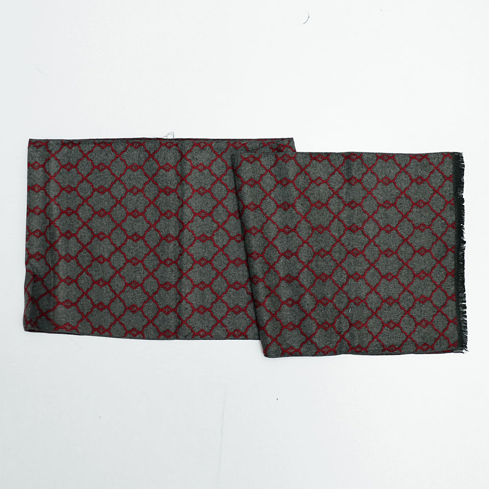All over Jacquard weaved Monogram Stole (GU-2087)
