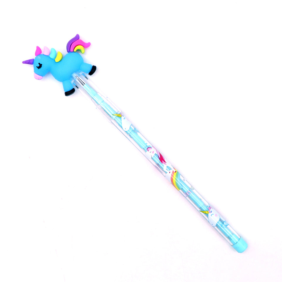 Top Quality Imported Unicorn Topper Changing Lead Pencil for Kids