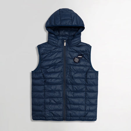 Mein Schiff Padded Hooded Sleeveless Jacket (BL-2110)