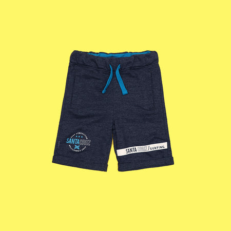 Boys exclusive blue printed short (XM-3708)
