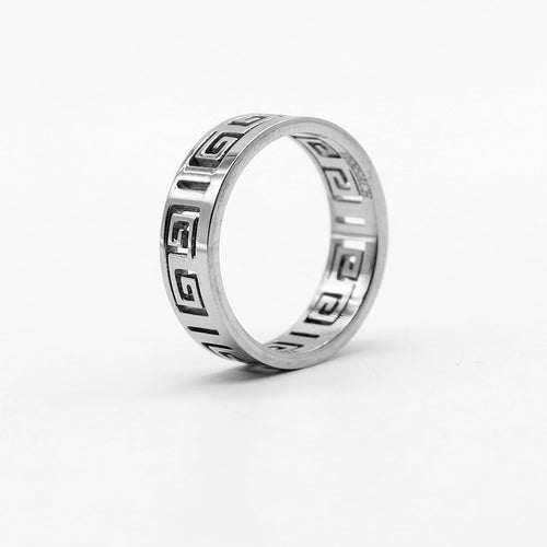 VR PREMIUM QUALITY GRECA RING (VE-2184)