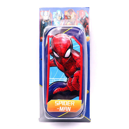 PU Leather Embossed Spider-man Pencil Case for Kids (GE-5307)