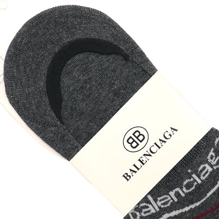 Charcoal Signature Cotton No Show Socks  (BA-2141)