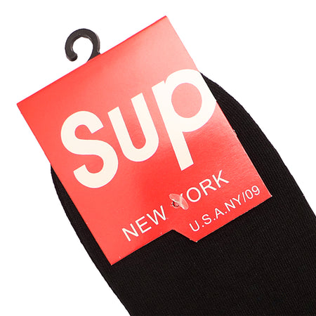 Black Signature Cotton Ankle Socks  (SP-2156)