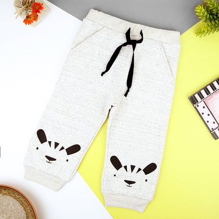 Kids Graphic Close bottom fleece joggers (MM-11248)