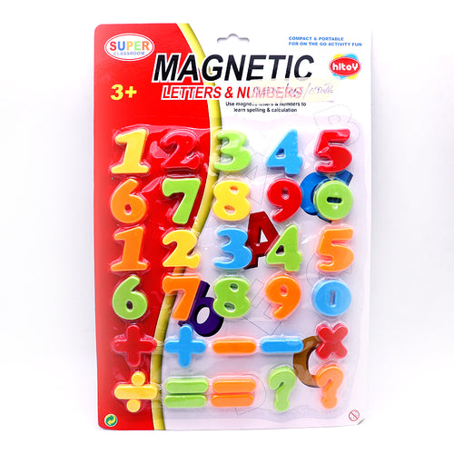 Big size Numbers Magnets Learning Teaching Toys for kids  (LN-20097)
