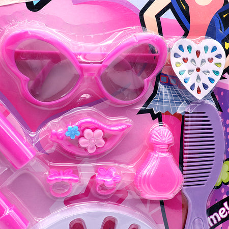 Makeup Beauty Set with Sunglasses Toy for Girls (BS-5396)