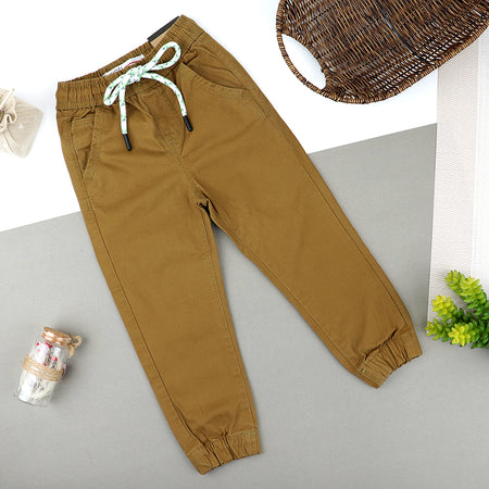 Kids Stretch Pull-On Jogger Fit Pants   (MI-10231)