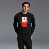 Men Super Soft iconic embellished Fleece Sweatshirt (US-11130)