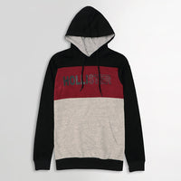 Hlstr Color block Graphic Pullover Hoodie (HO-10245)