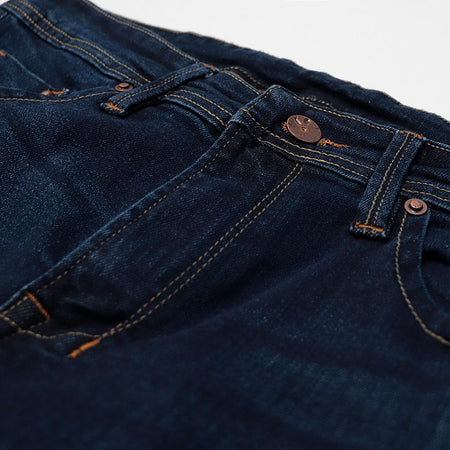 Exclusive Navy Huston 'slim fit' stretch jeans  (DI-11008)