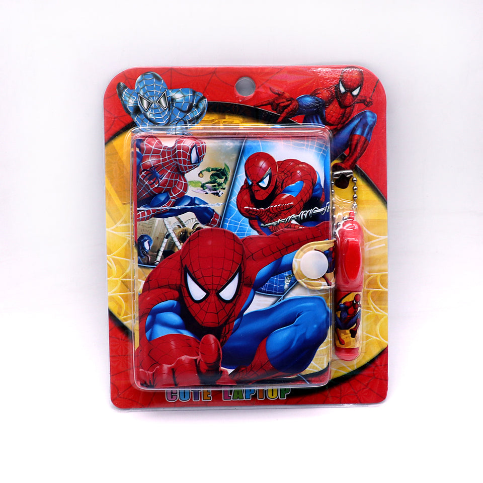 SpiderMan Printed Diary with Small Pen for Kids (NB-5358)