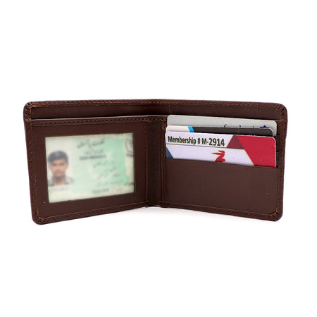 Dear Stag Dollar Size Genuine Leather Wallet