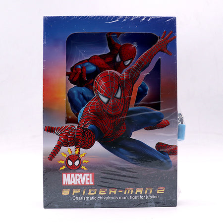 SPIDER MAN DESIGN BIG SIZE PERSONAL LOCK DIARY FOR KIDS (NB-5376)