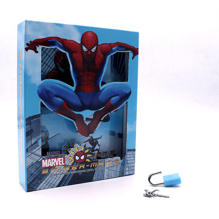 SPIDY JUMP DESIGN PERSONAL LOCK DIARY FOR KIDS (NB-5390)