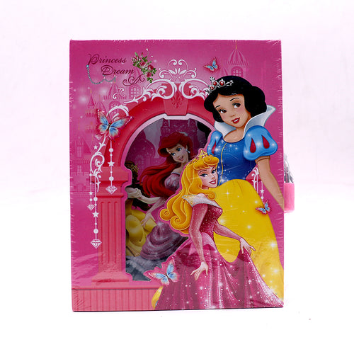 PRINCESS DREAM DESIGN PERSONAL LOCK DIARY FOR KIDS (NB-5392)