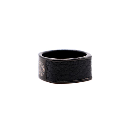 PREMIUM QUALITY CONTRAST EDGE SIGNATURE RING(VE-2290)