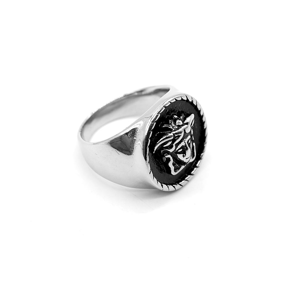 VR PREMIUM QUALITY RESIN MEDUSA RING (VE-2286)