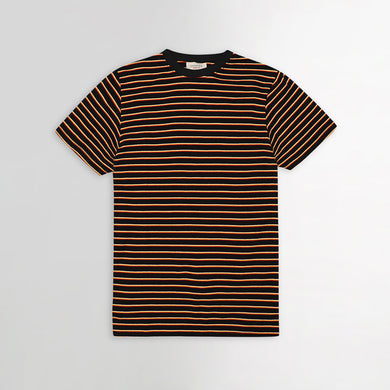 Spng Fld Autograph Striped Tee Shirt (SF-5249)