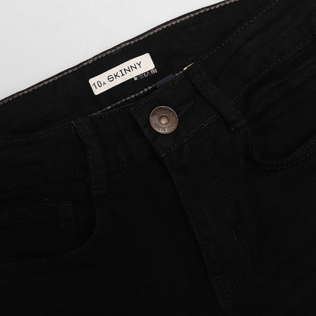 KBI Boys Black Skinny fit Denim (KI-2273)