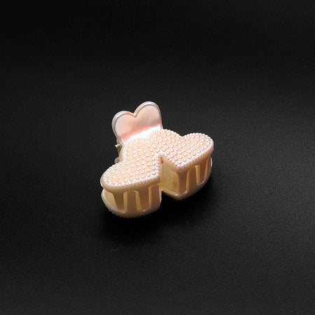 Small Decorated  Hair Claw Clip Clamp Hair Catcher