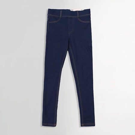 High Waisted Super Stretchy blue Jeggings  (DK-5252)