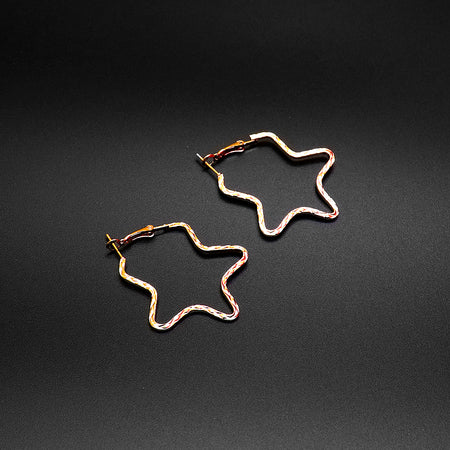 Star , Rectangle and Circle shaped Earrings