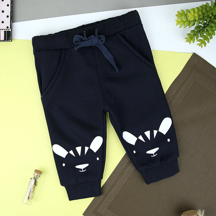 Kids Graphic Close bottom fleece joggers (MM-11247)