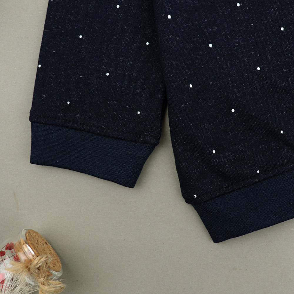 Kids All over Small Dots Printed Sweatshirt (MN-11058)