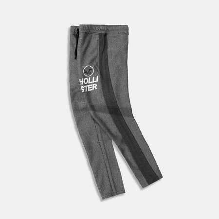 HLSTR Thin Striped Graphic Joggers with Side Stripe (HO-10195)
