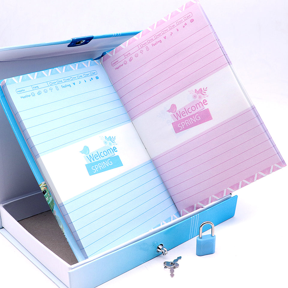 MCQUEEN TOURS DESIGN PERSONAL LOCK DIARY FOR KIDS (NB-5644)