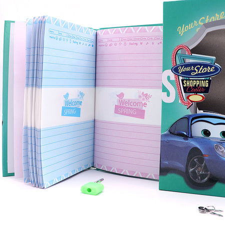 MCQUEEN DESIGN BIG SIZE PERSONAL LOCK DIARY FOR KIDS (NB-5659)