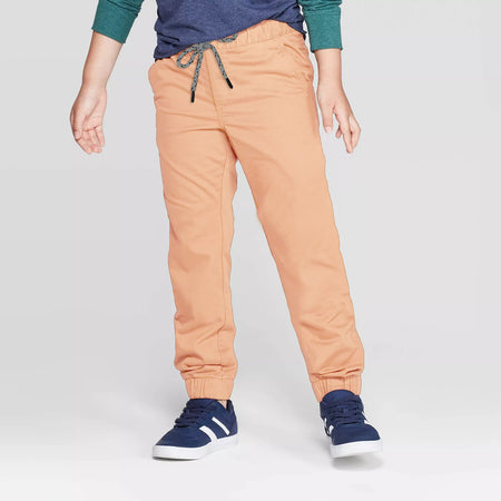 Kids Stretch Pull-On Jogger Fit Pants (MI-10204)