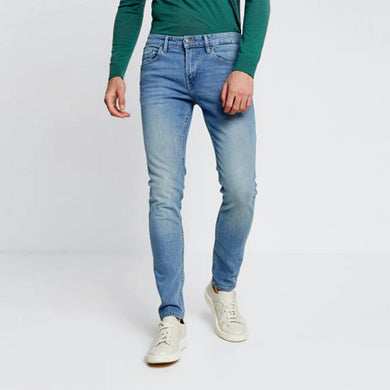 jonas Skinny Slim leg pale wash denim (TT-807)