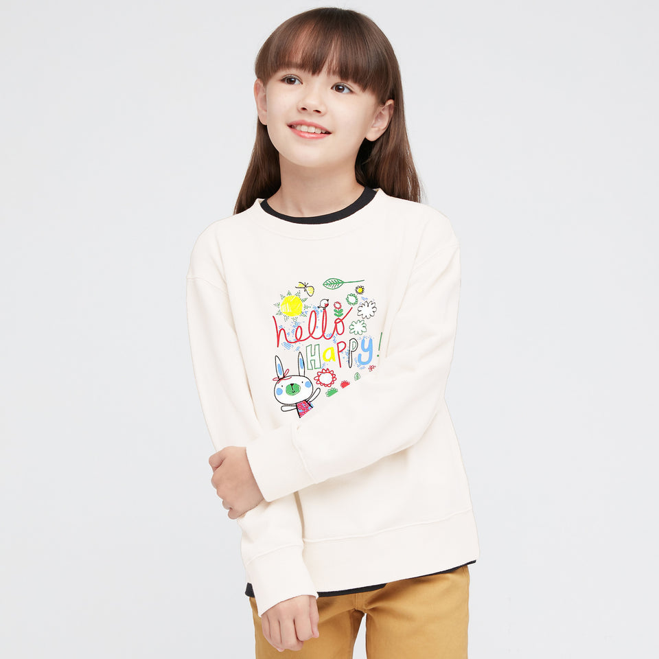 Mni-Minors Girls Super soft Fleece Graphic Sweatshirt (MM-11200)